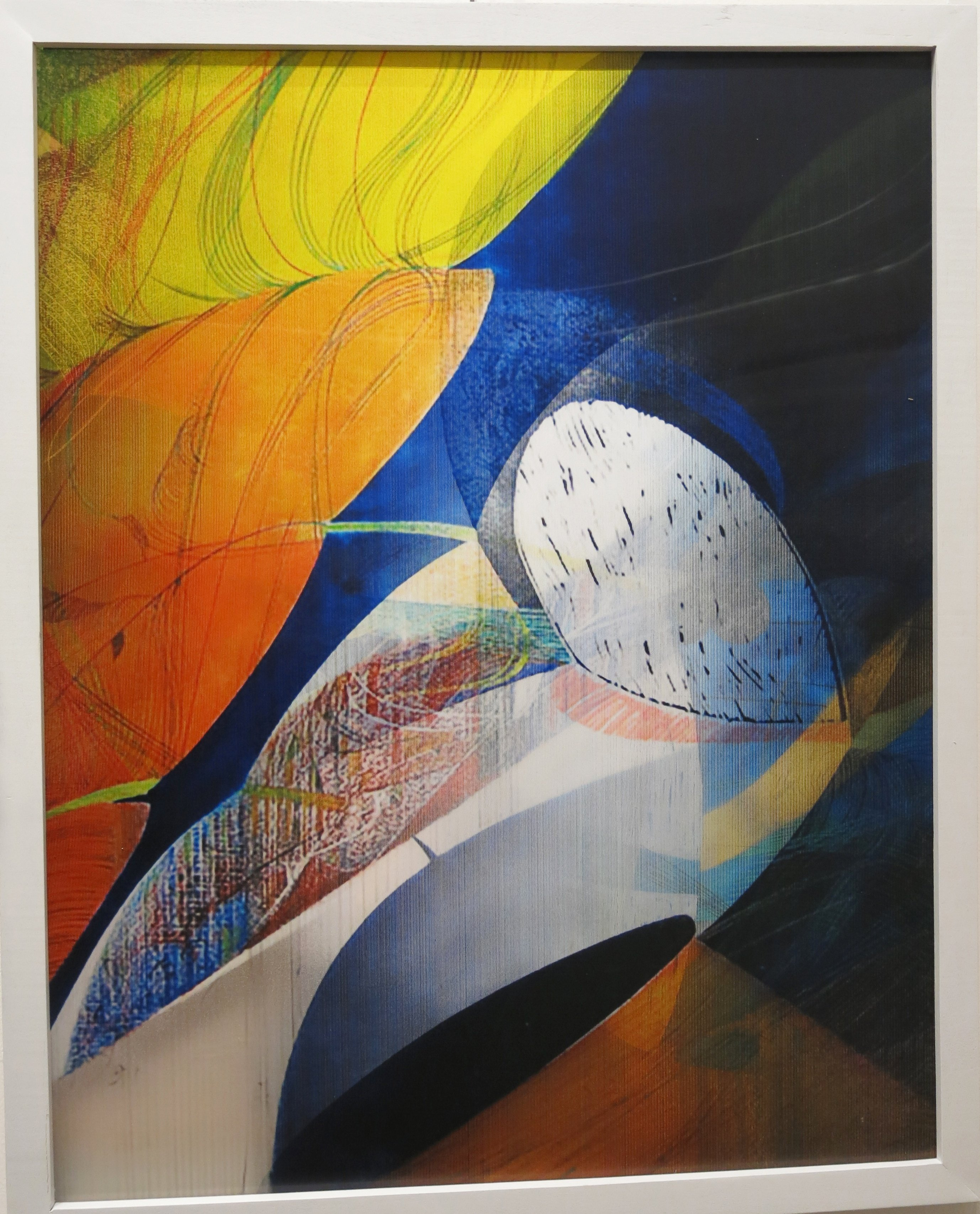 "Lenticular Image ""8 Ball"""