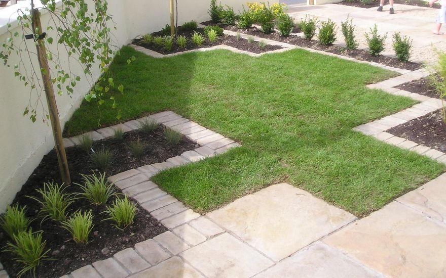 Formal Lawn In Dalkey
