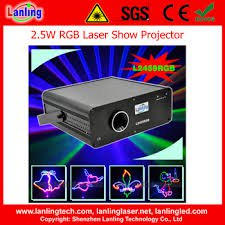 2.5 w full colour laser