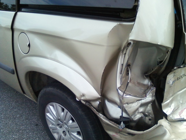 Damaged Car 2