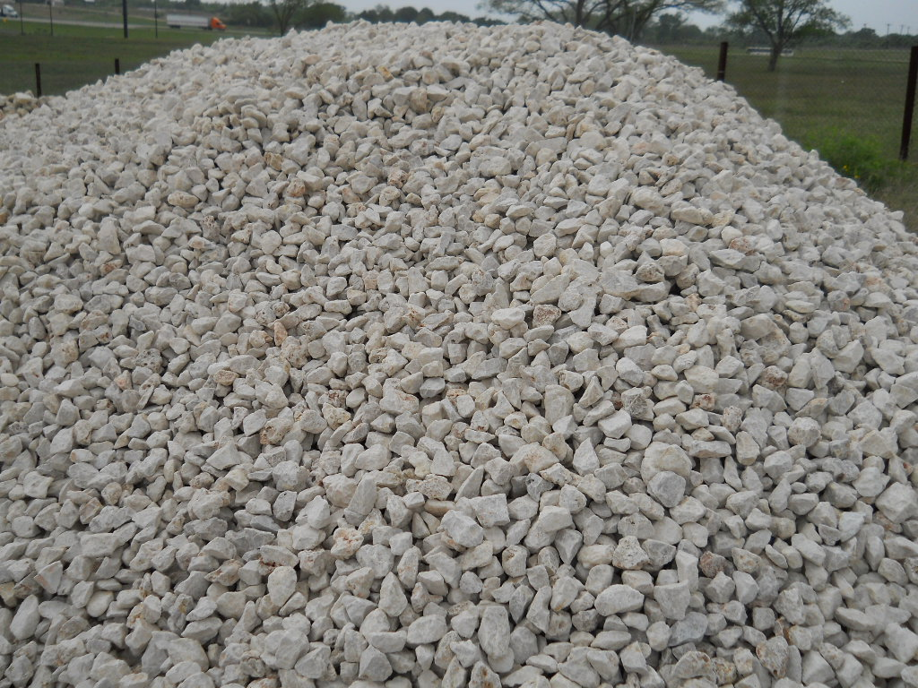 Gray Septic Rock Pile