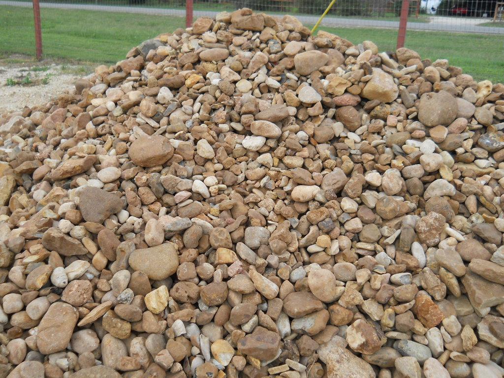 Natural Bull Rock Pile