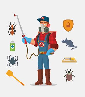 Pest control professionals