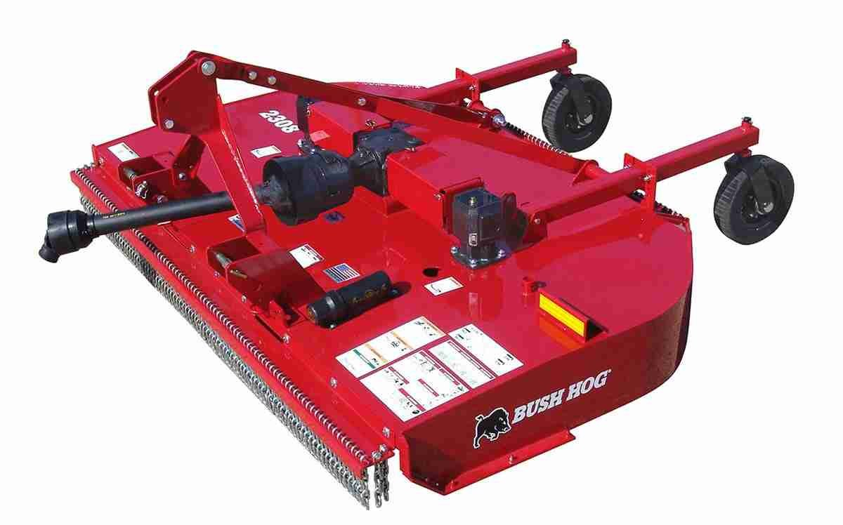 "Bush Hog 8ft Mower,  1-1/2"" Capacity Cut, We Stock it in 3pt and Pull Type"
