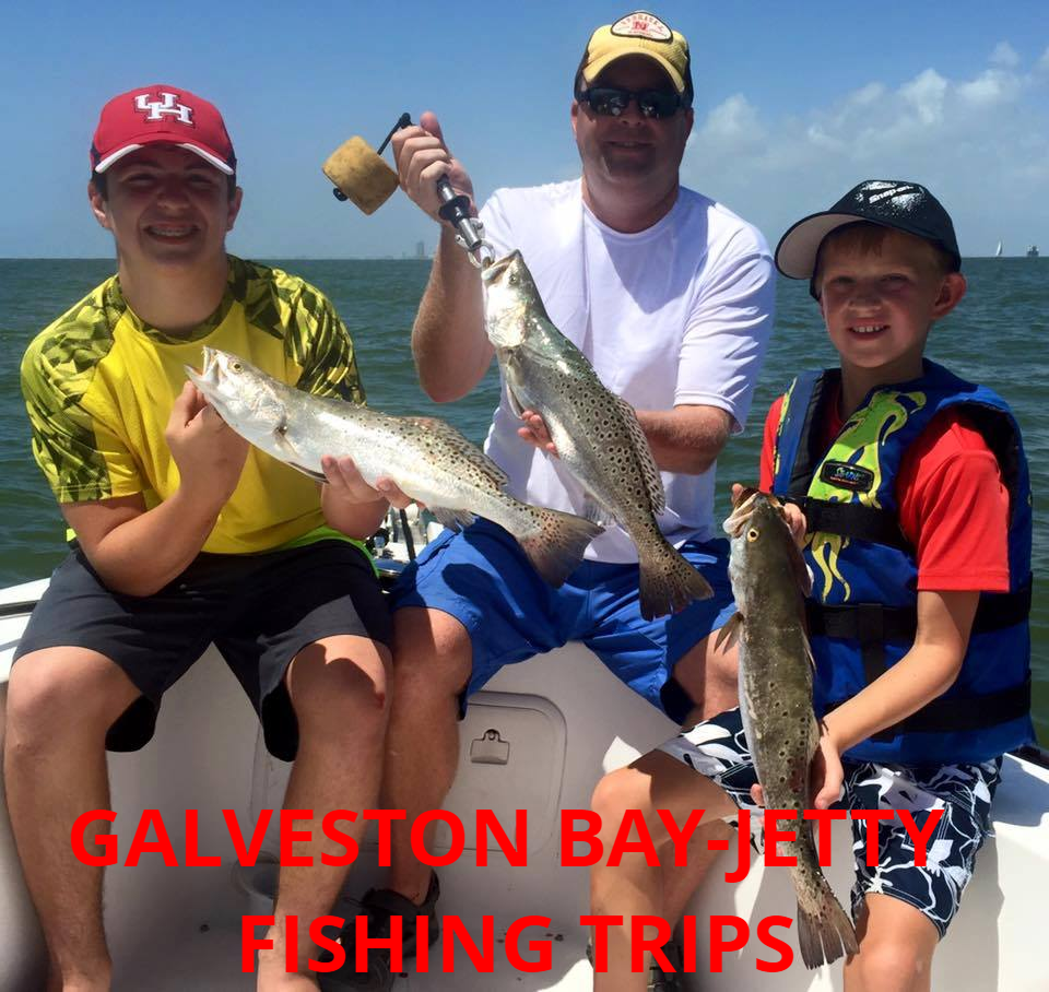 Galveston Bay-Jetty Fishing Trip