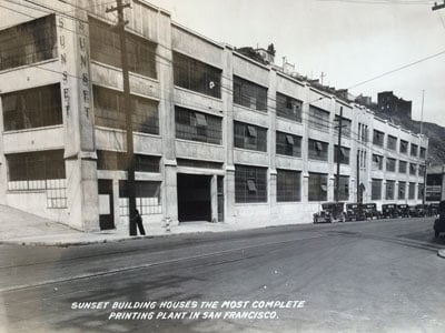 The Sunset Press Building