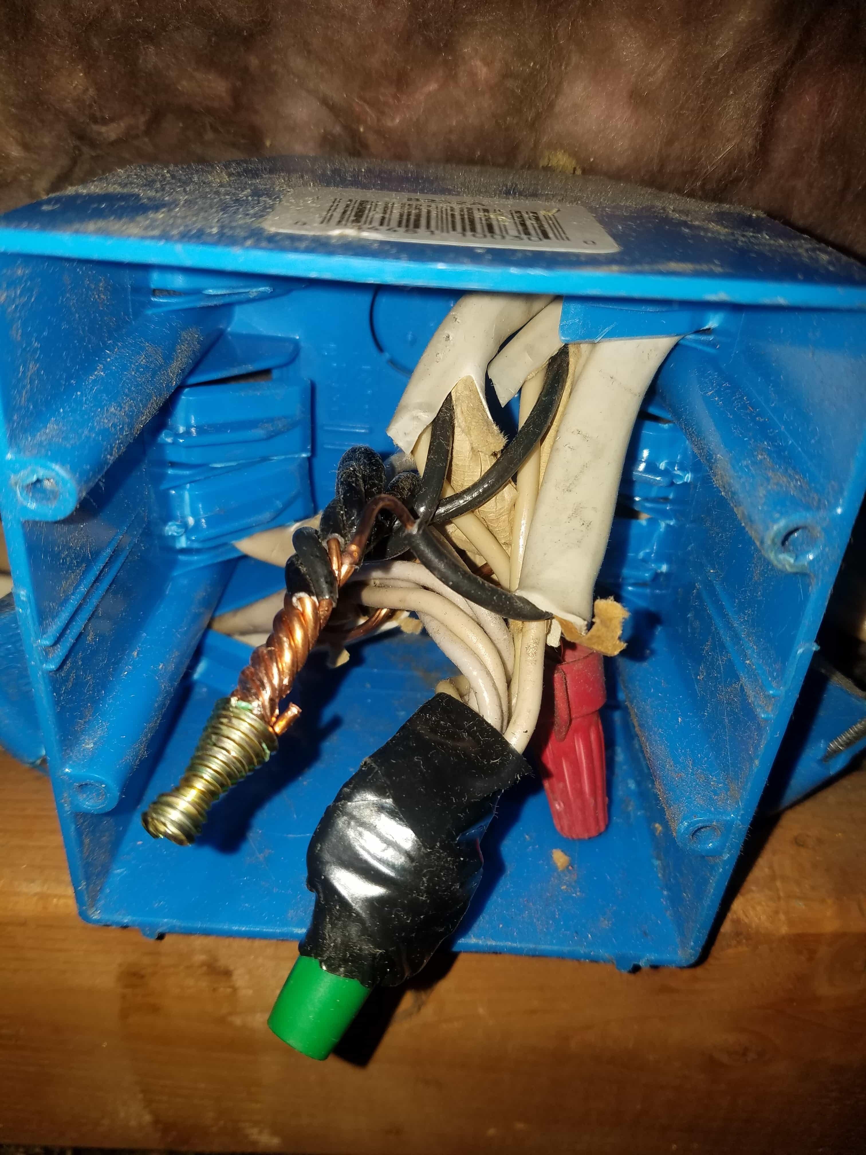 Damaged Electrical Wiring