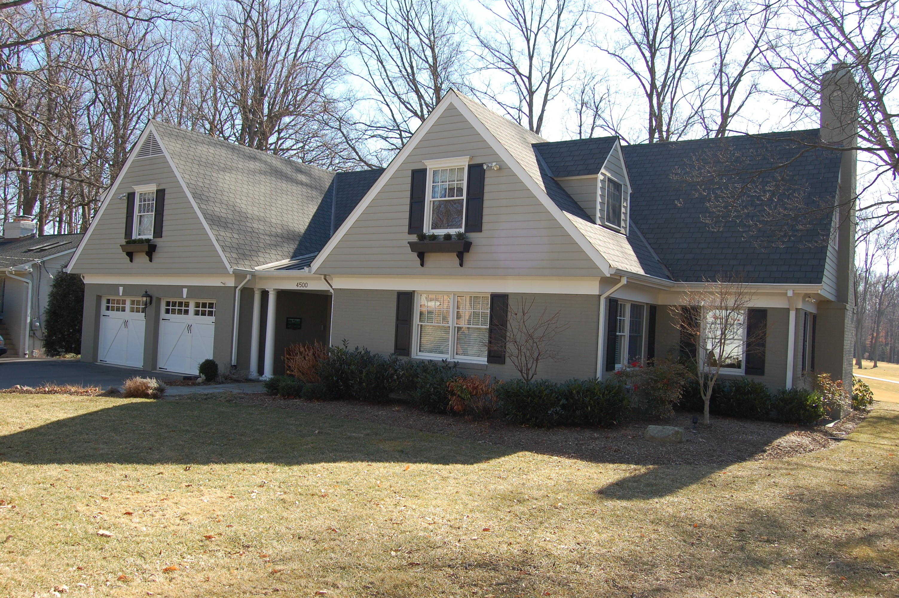 addition, remodel, and renovation  after A