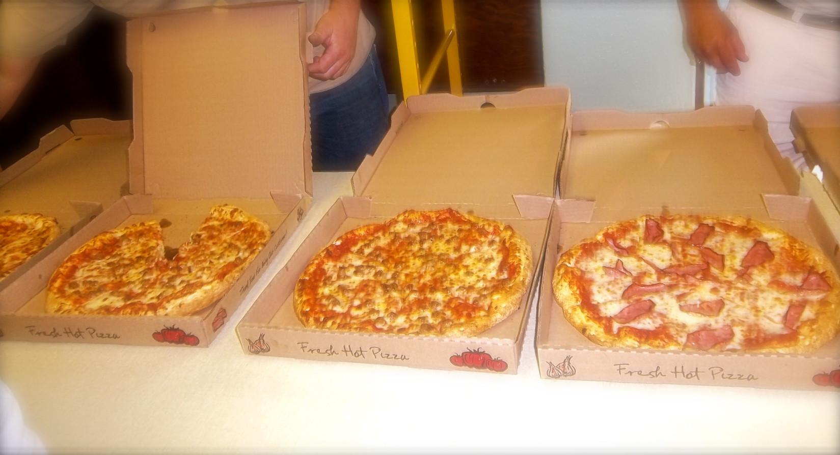 Pizza! Pizza! Pizza!