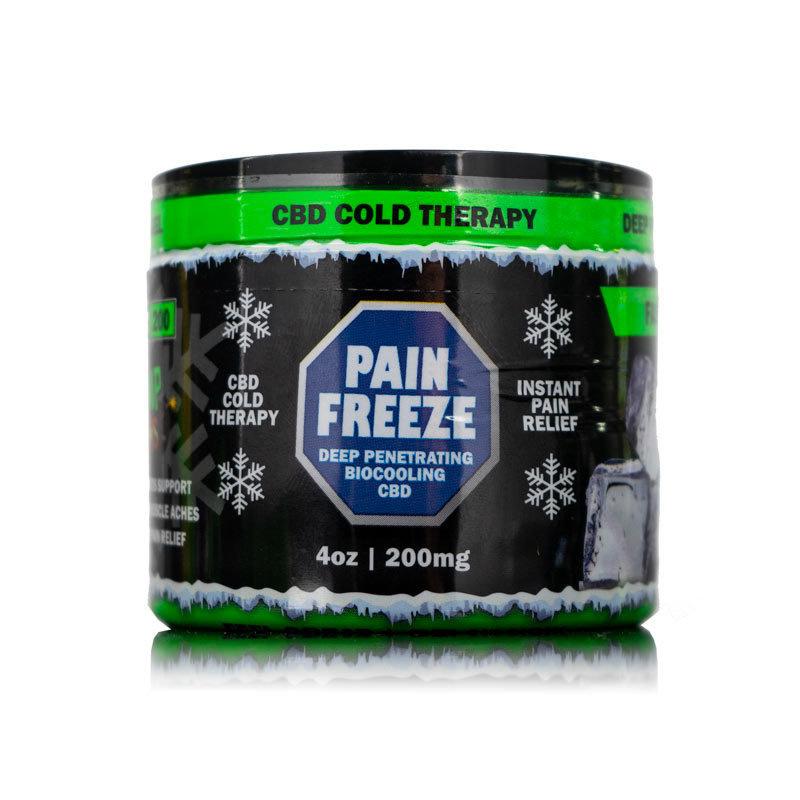 CBD Hemp Bombs pain freeze gels