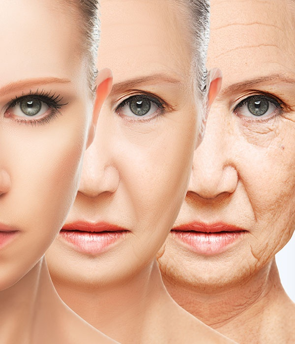 Beauty Concept Skin Aging