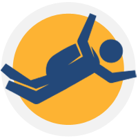 Skydiving icon