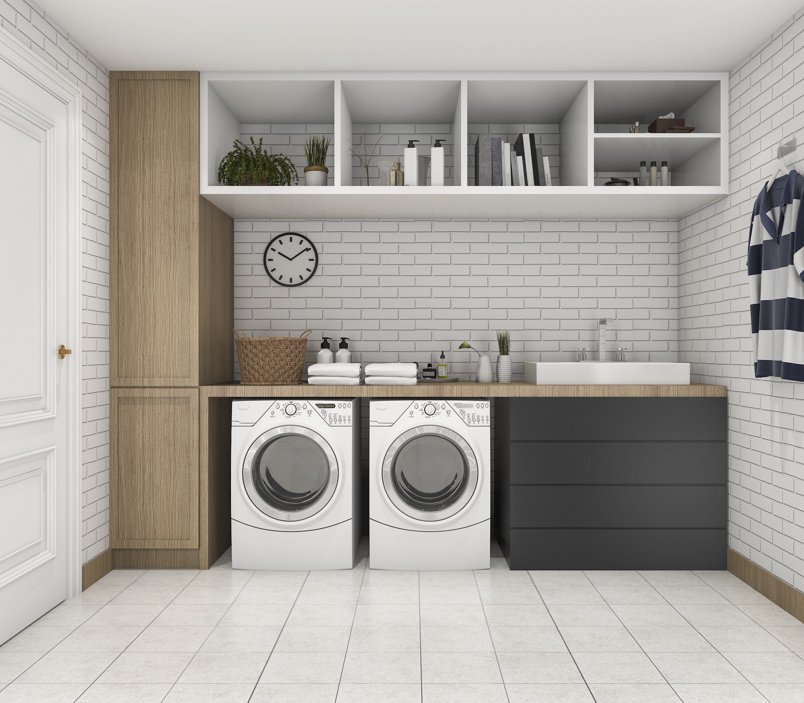 Closet Organization Ideas For Your Laundry Room Makeover