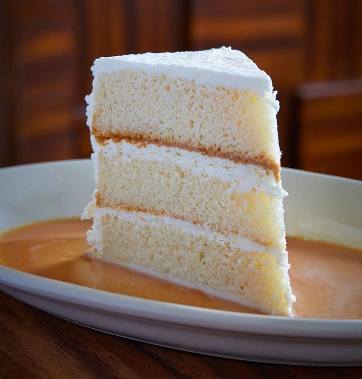 Vanilla Cake Slice 1