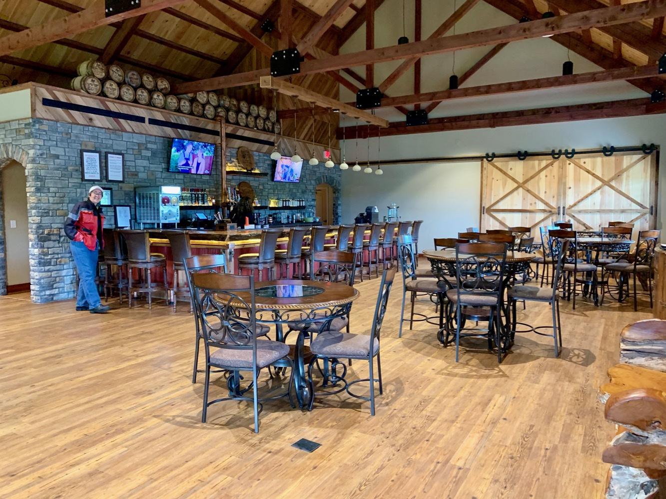 Jeptha Creed Distillery Bar