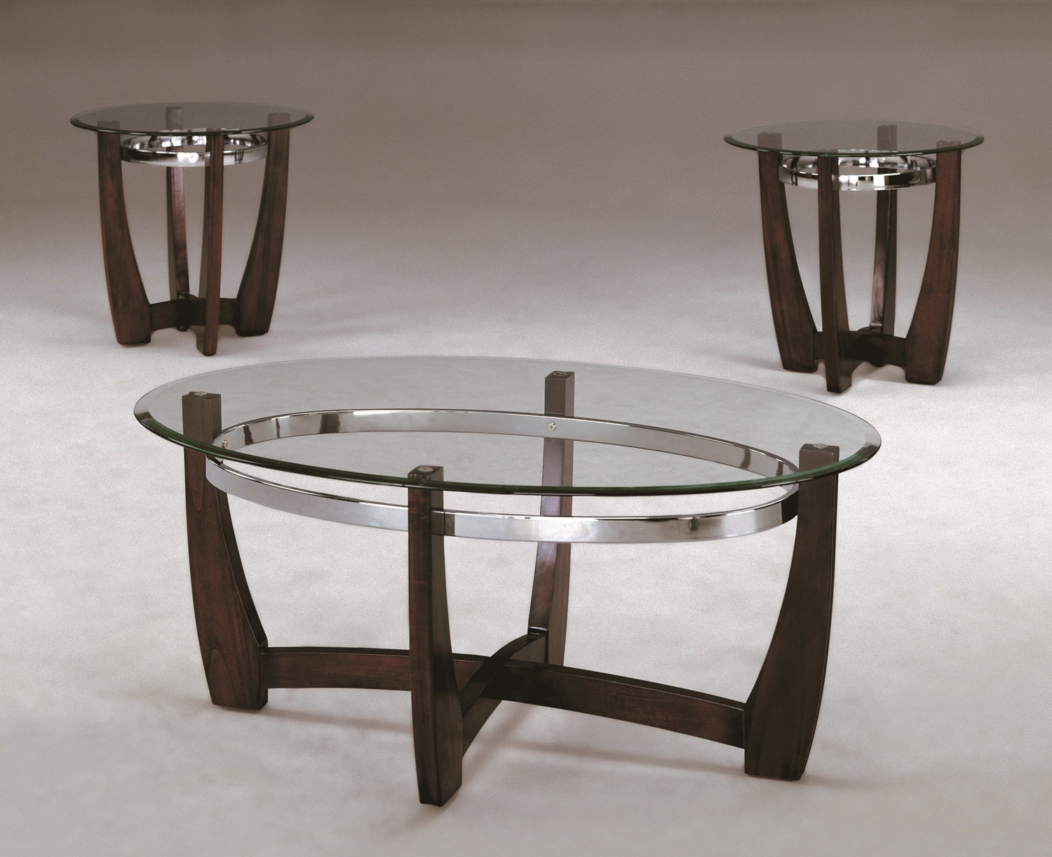 Mitc C M 4272 3 Piece Table Set Coffee And 2 End Tables
