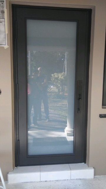 Aluminum Bronze Door