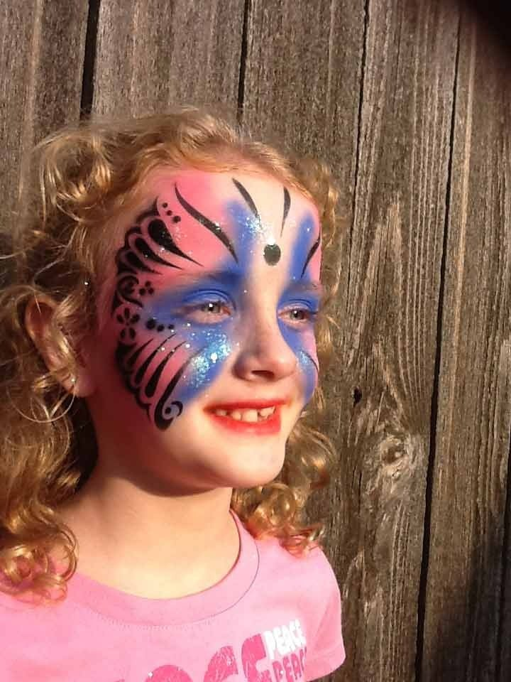 Butterfly Face Paint