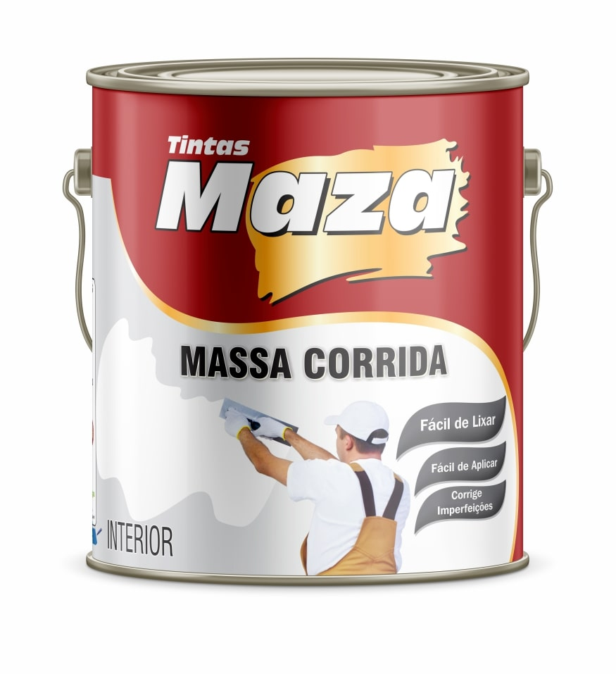 MASSA CORRIDA PVA MAZA FÁCIL DE LIXAR! FÁCIL DE APLICAR