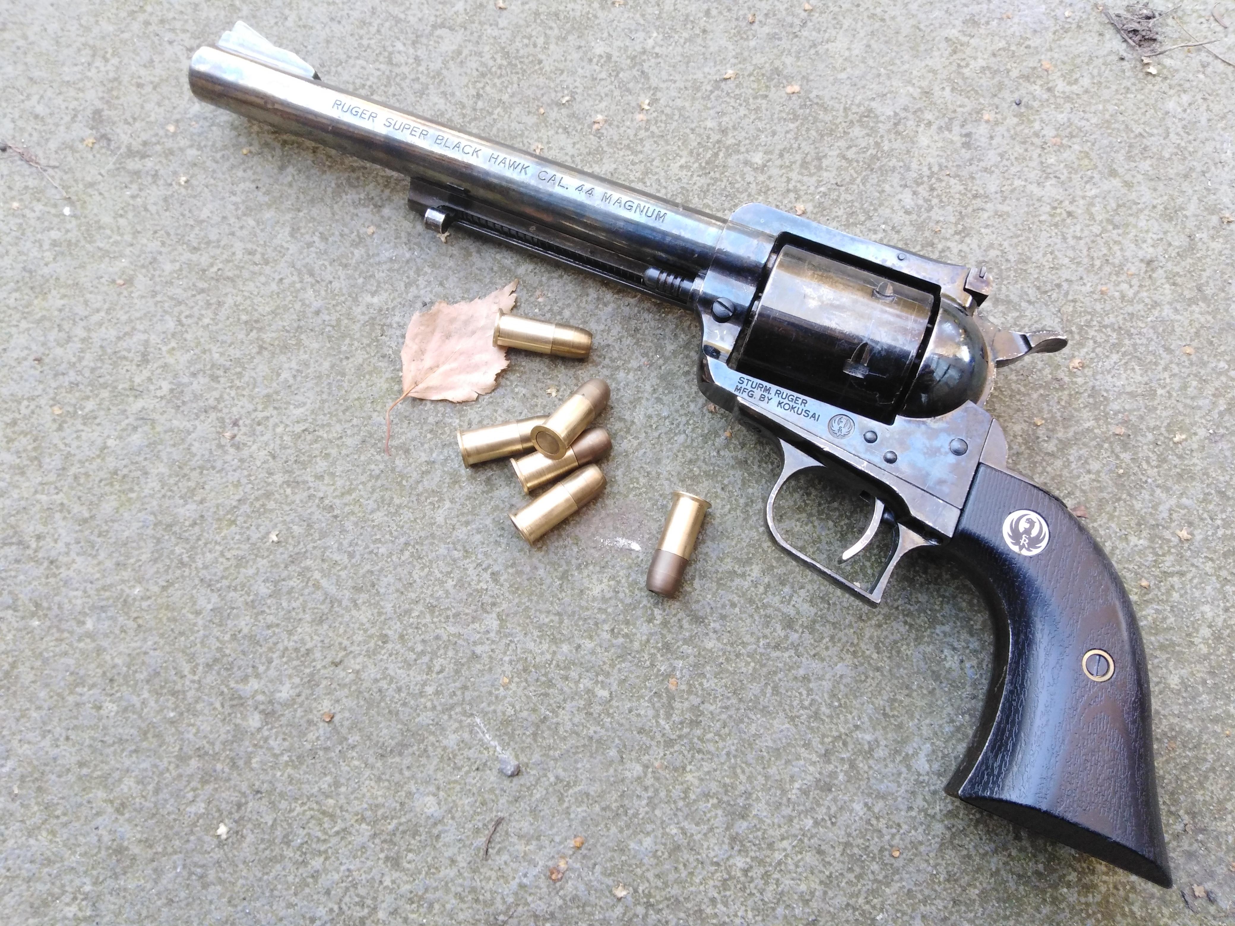 Rare Ruger Super Blackhawk .44 Magnum SA