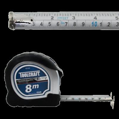 Flexómetro o Cinta de Medir Magnética Marca Toolcraft