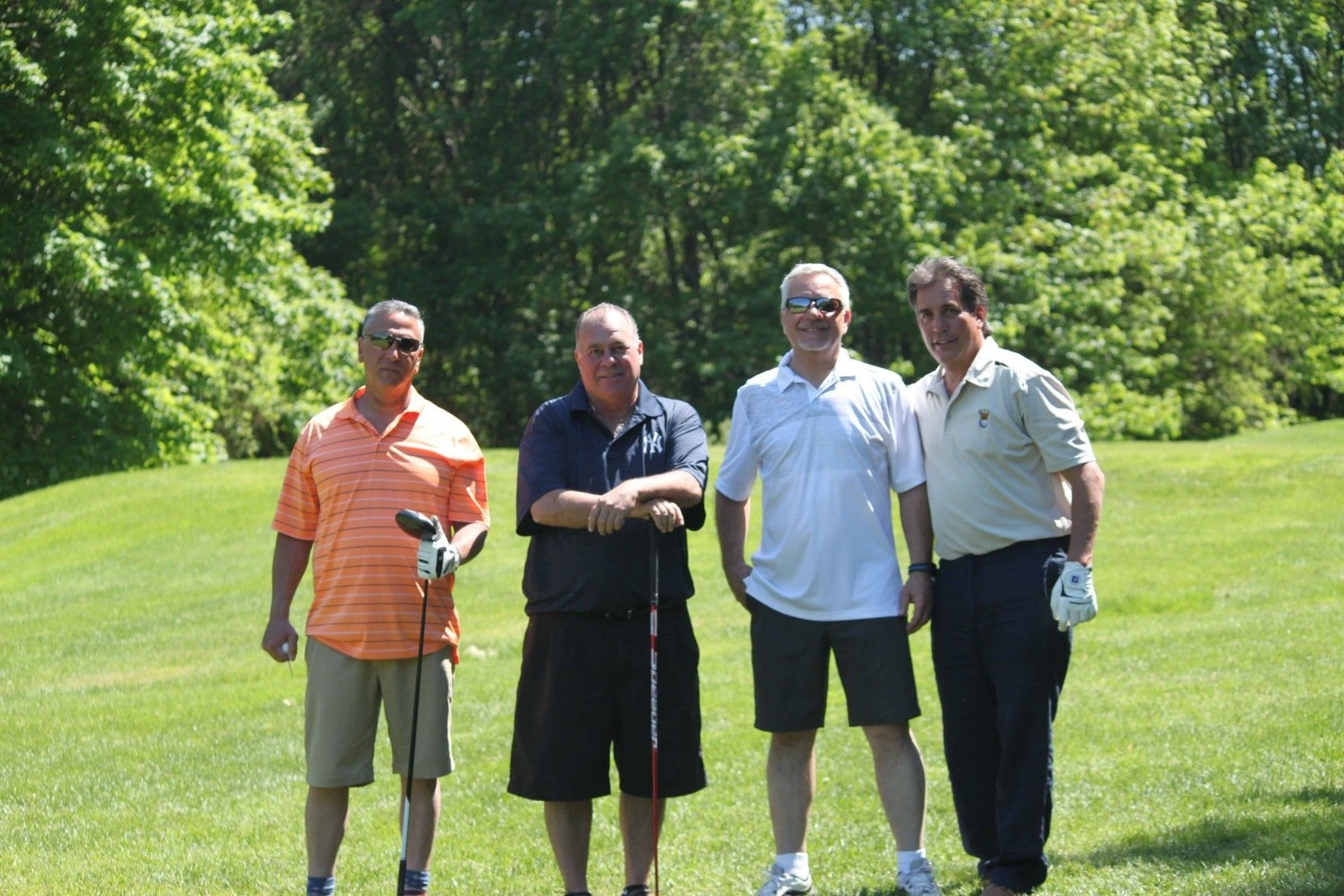 Golf Outing Attendees