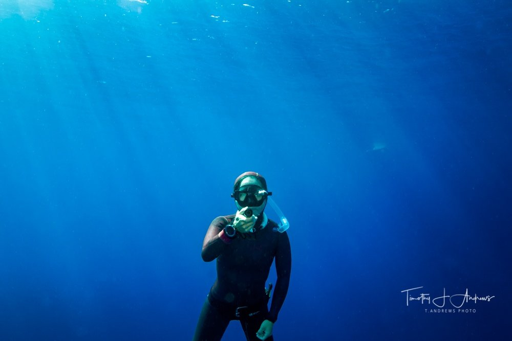 Freediving Instructor Tim Andrews