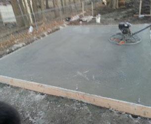 Concrete Patio Project