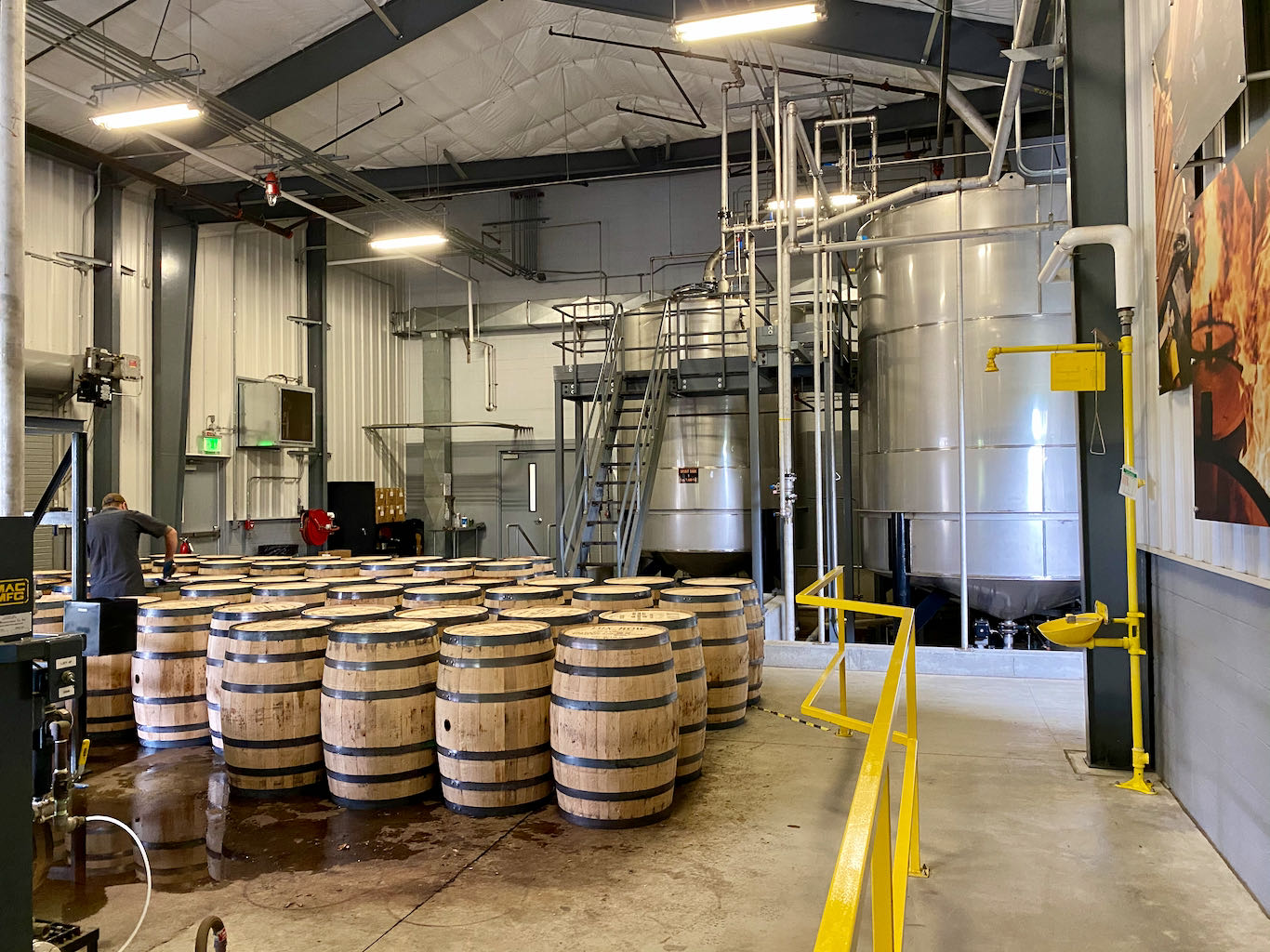 Barreling and Spirit Tanks  - Lux Row Distillers