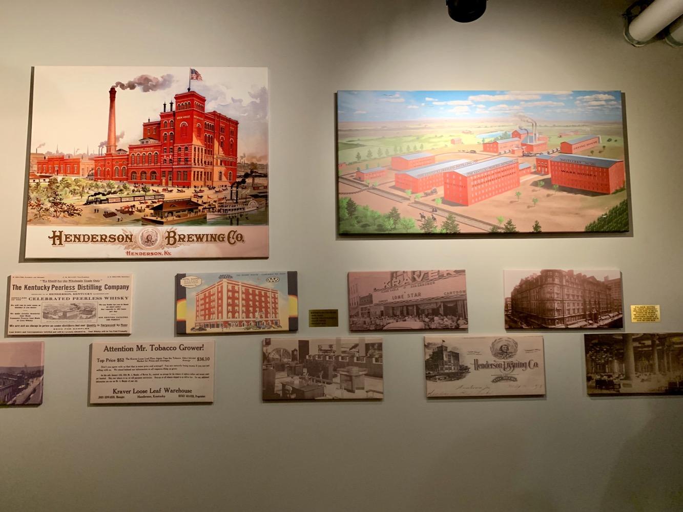 Kentucky Peerless Distilling - History Wall
