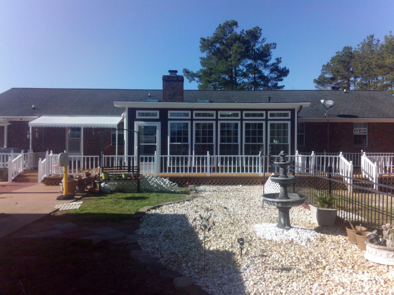 Sunroom addition & Complete Deck Restoration