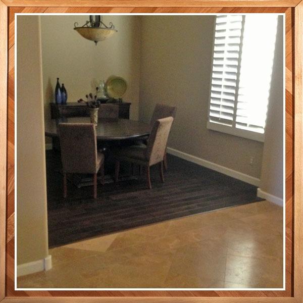 Hardwood and Tile Flooring Idea