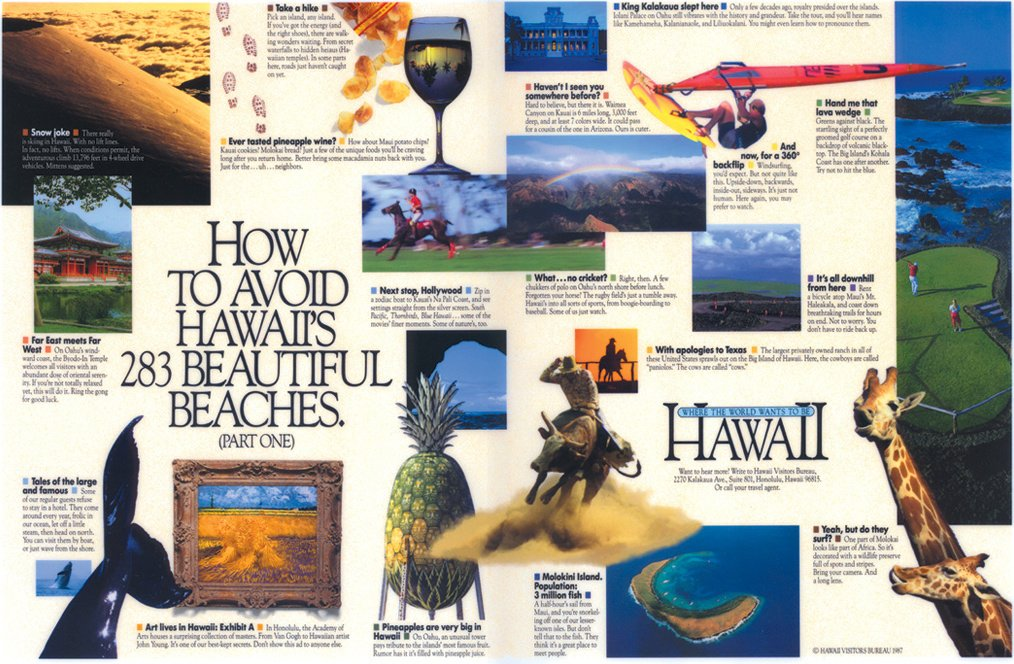 Hawaii Visitors Bureau - Part 1