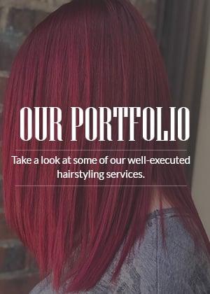 Striking Red Hair