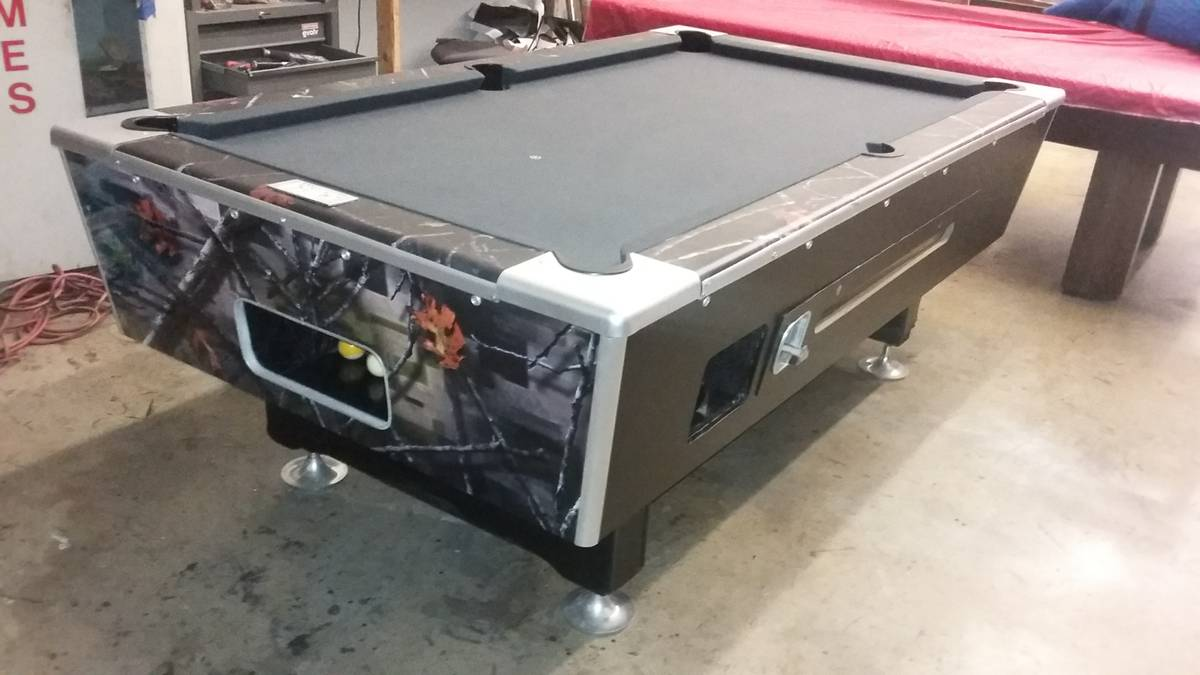 Somar billiards used pool tables for 1 inch slate pool table