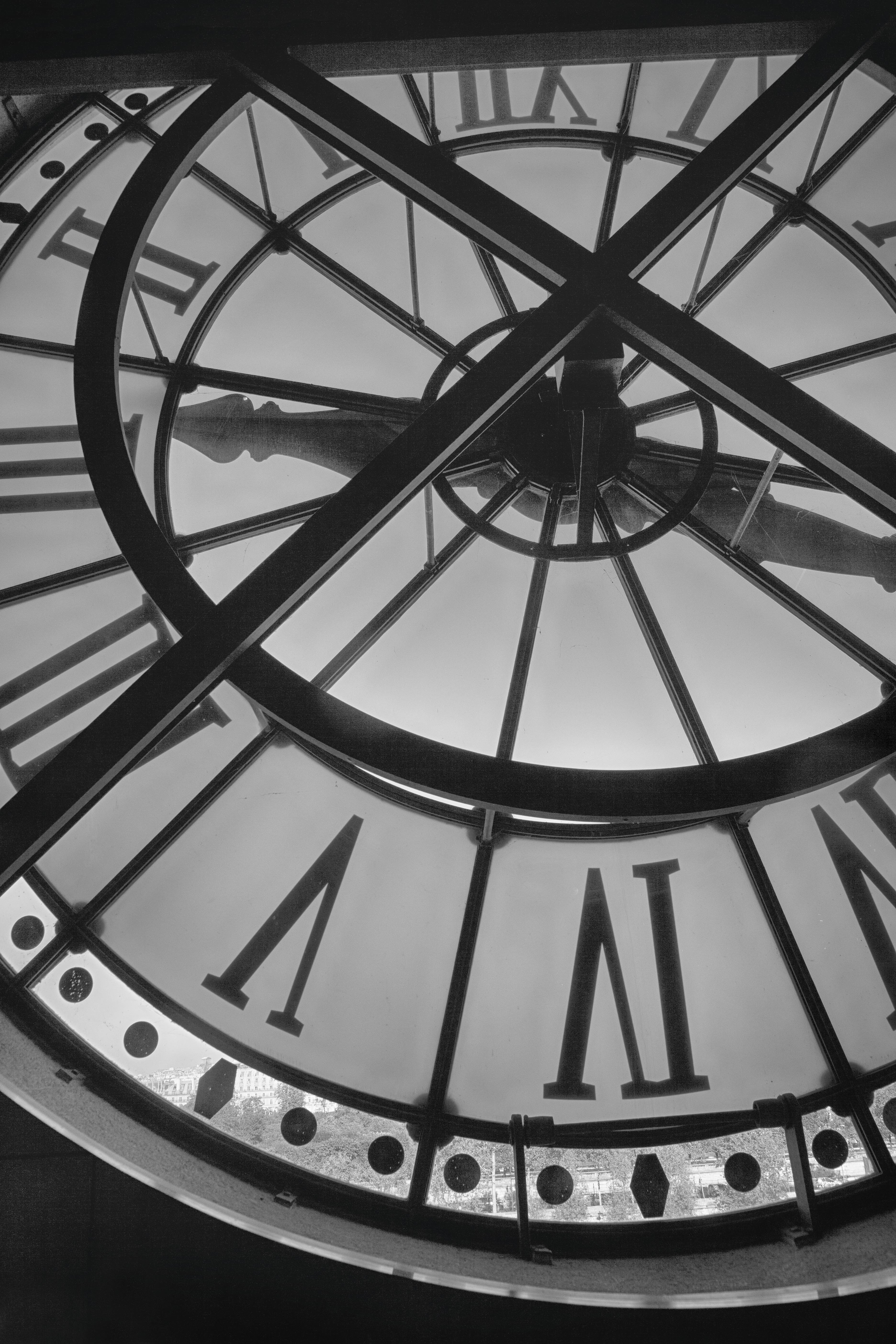 D'Orsay Clock Face