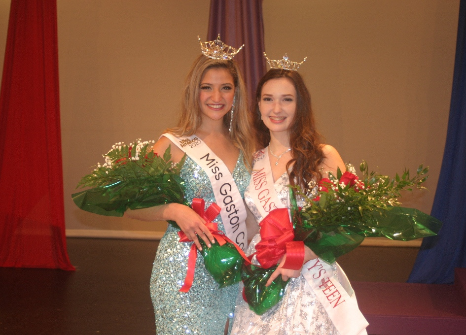 Miss Gaston County Mariana Linares & Miss Gaston County's Outstanding Teen Alexandria Foy