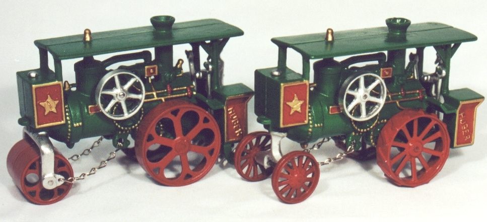 Green Huber Roller and Engine