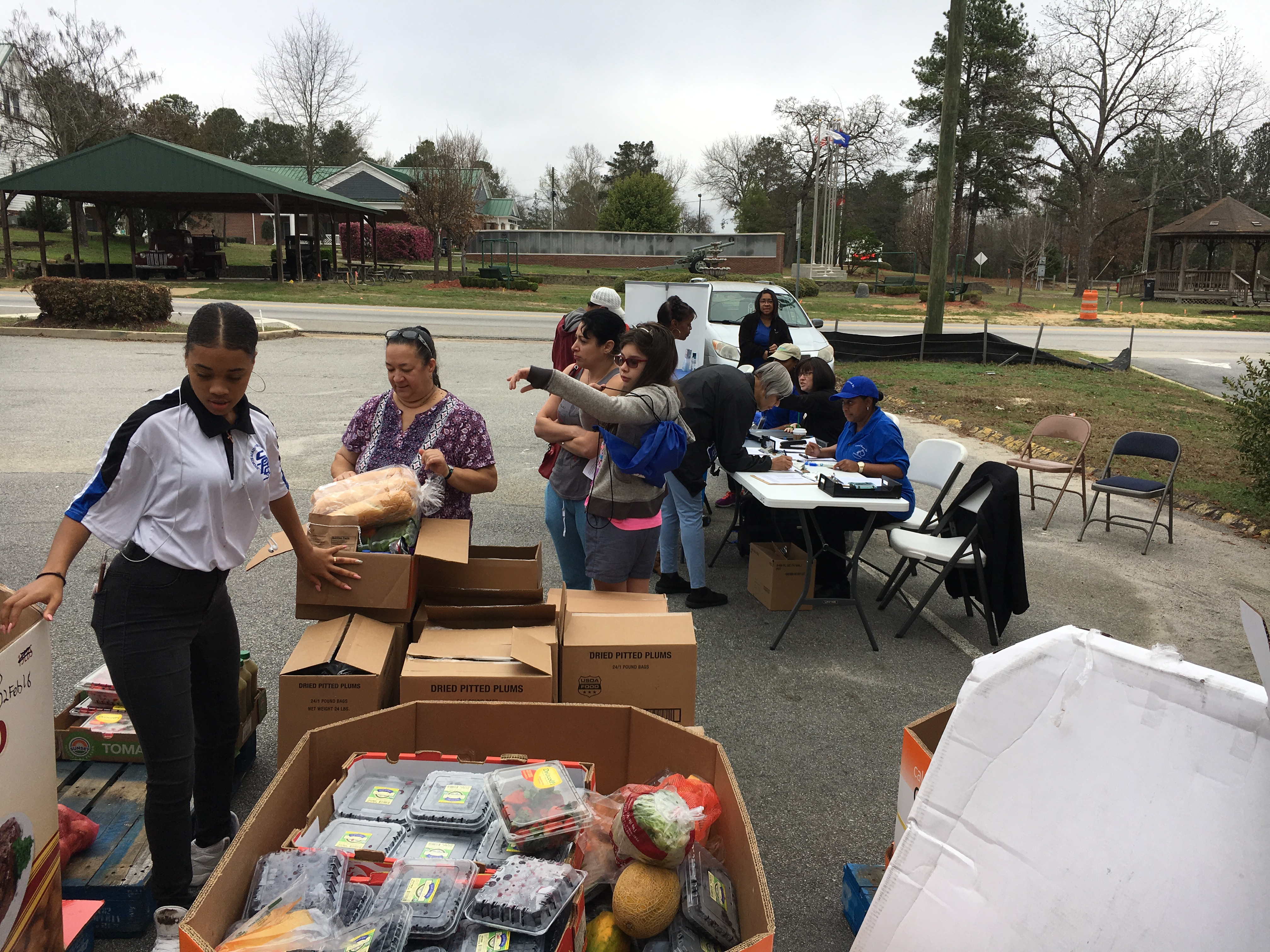 Food Give Away Grovetown