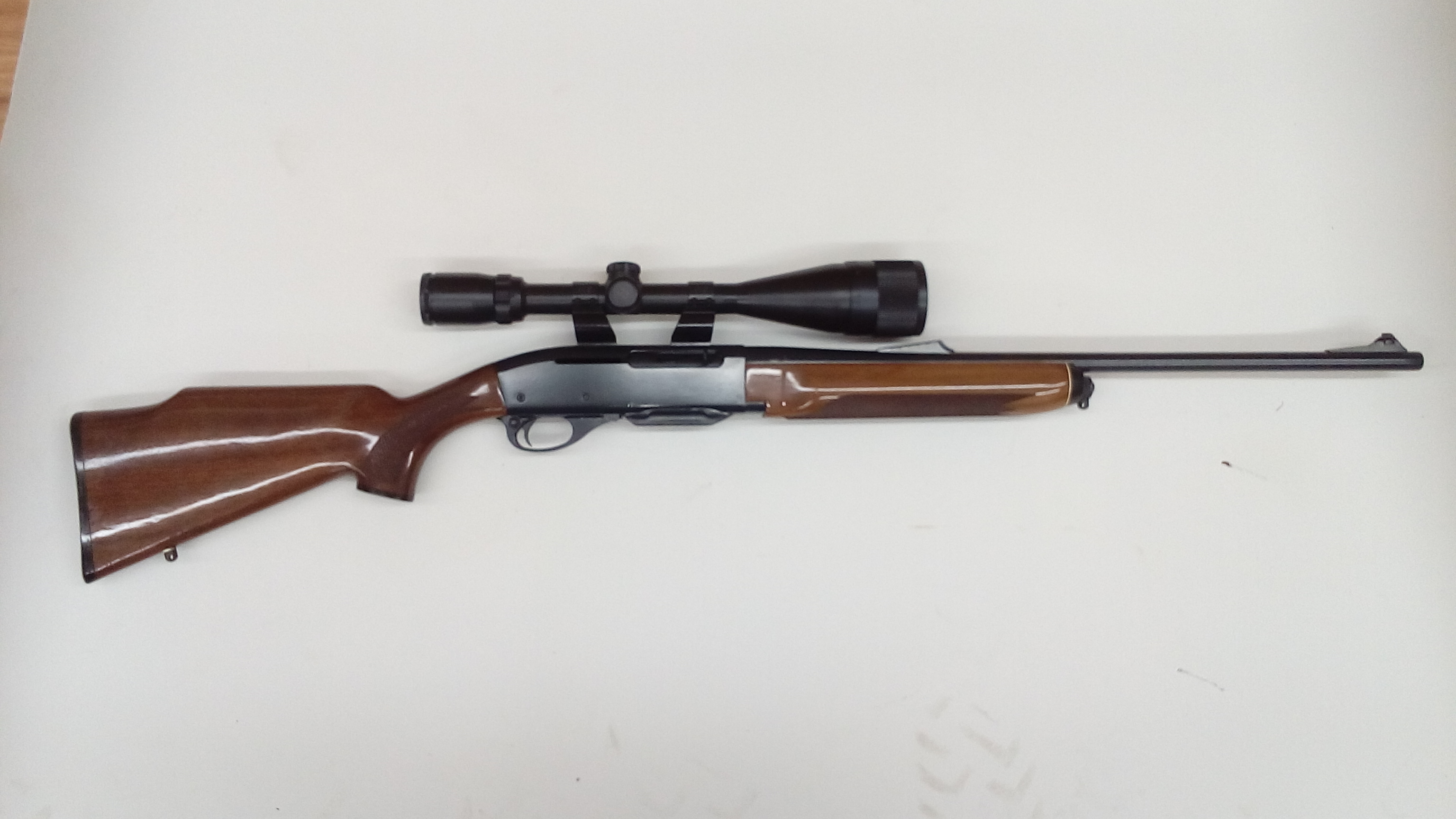 Remington 7400 cerakoted with graphite black