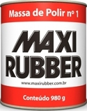 MASSA DE POLIR NO 1 MAXI RUBBER