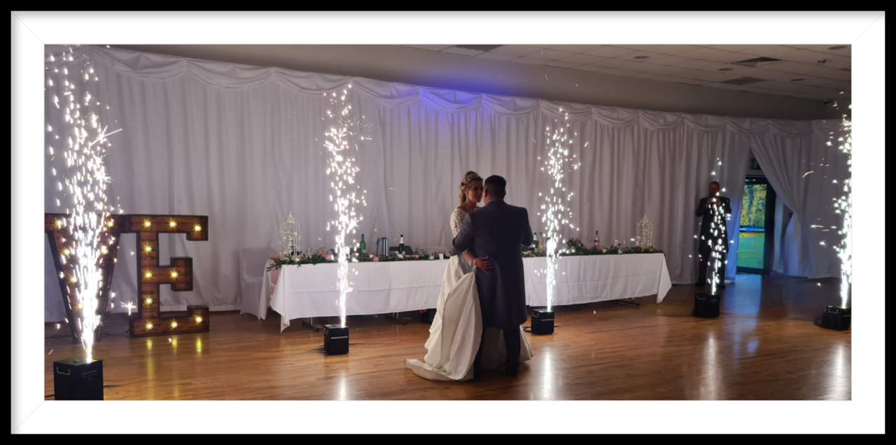 First Dance Cold Sparks