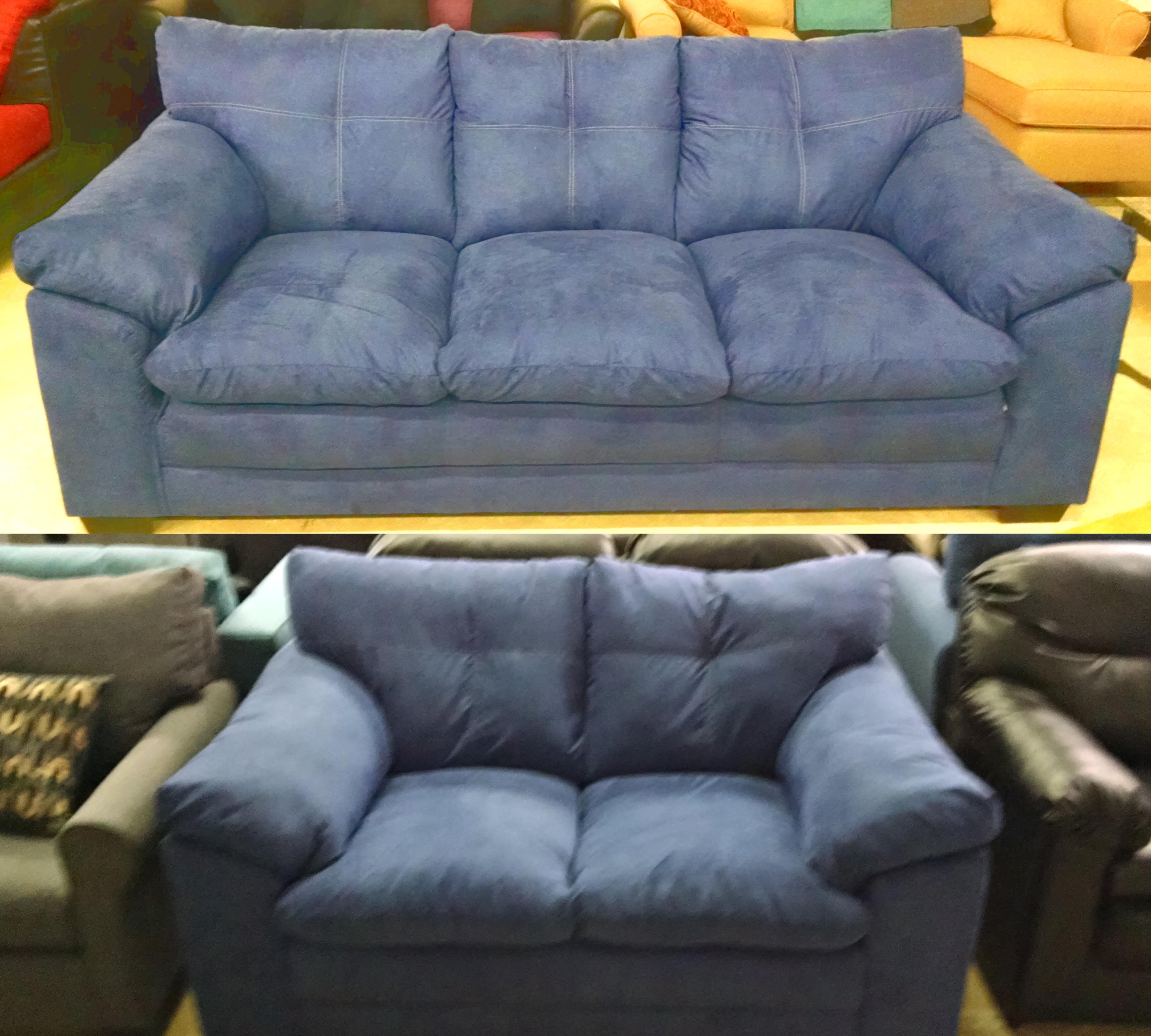 9300 Sofa and Loveseat