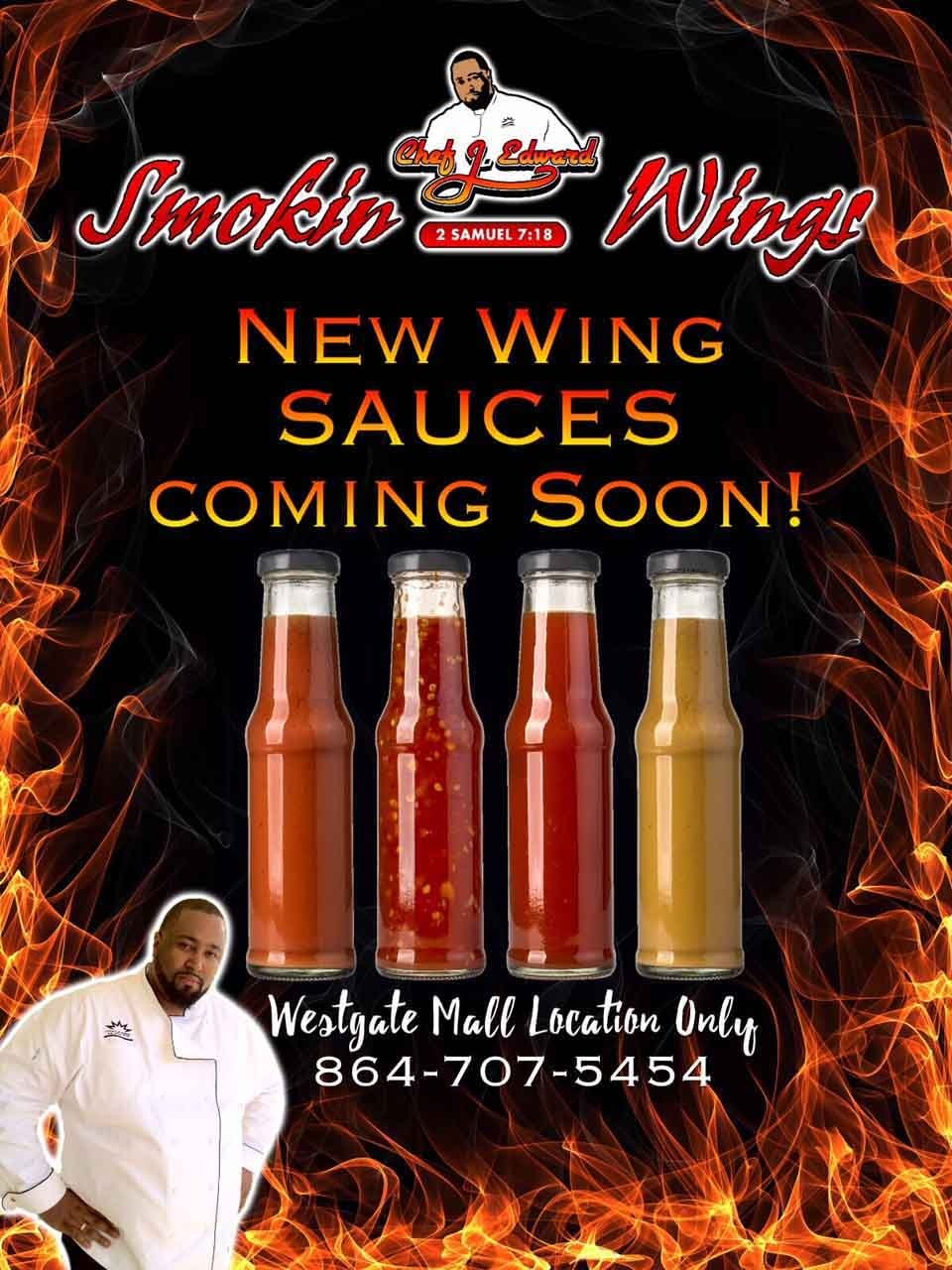 New Wing Sauces