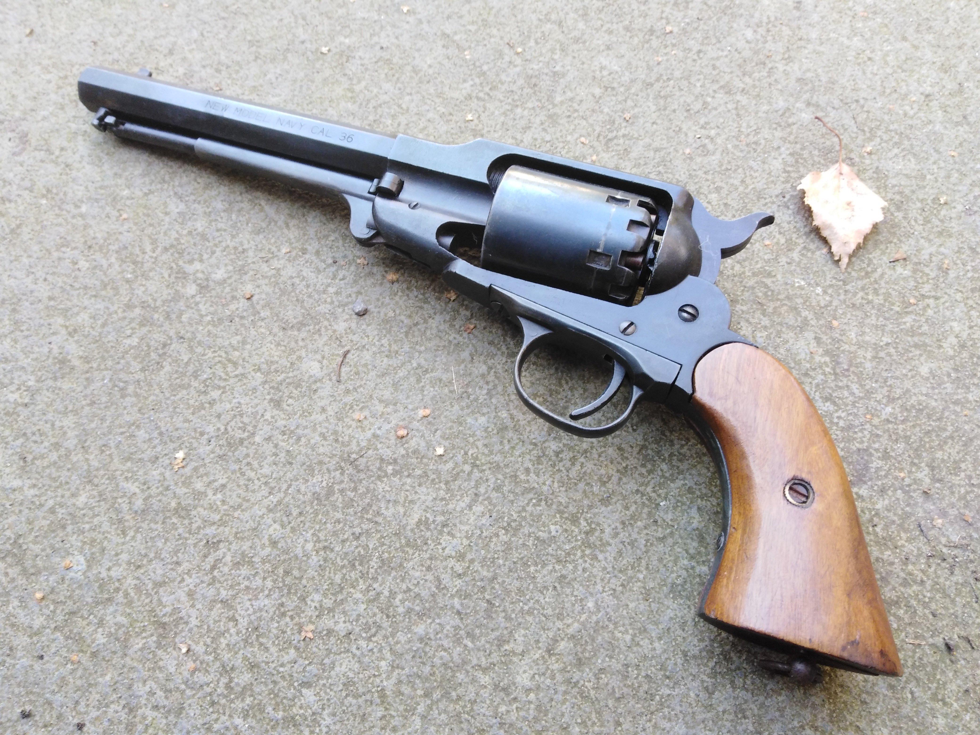Rare CMC Remington 1863 .36 New Model Navy
