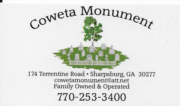 Coweta Monument