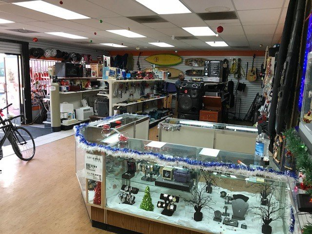 Pawn Shop Interior