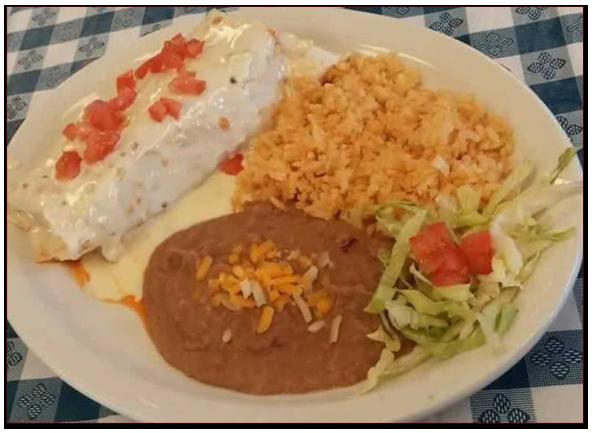 Tinga Burrito