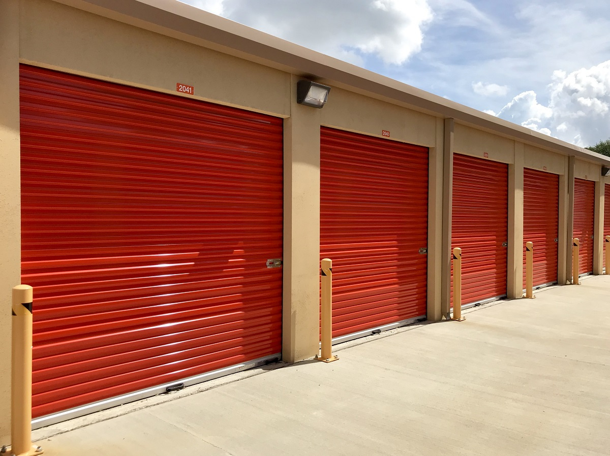 Climate Controlled Drive-Up units at Affordable Self Storage