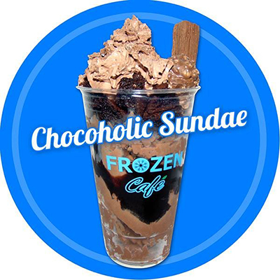Chocoholic Sundae - Ice Cream